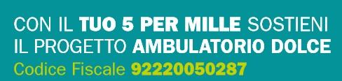 5x1000_2016 ambulatorio Dolce
