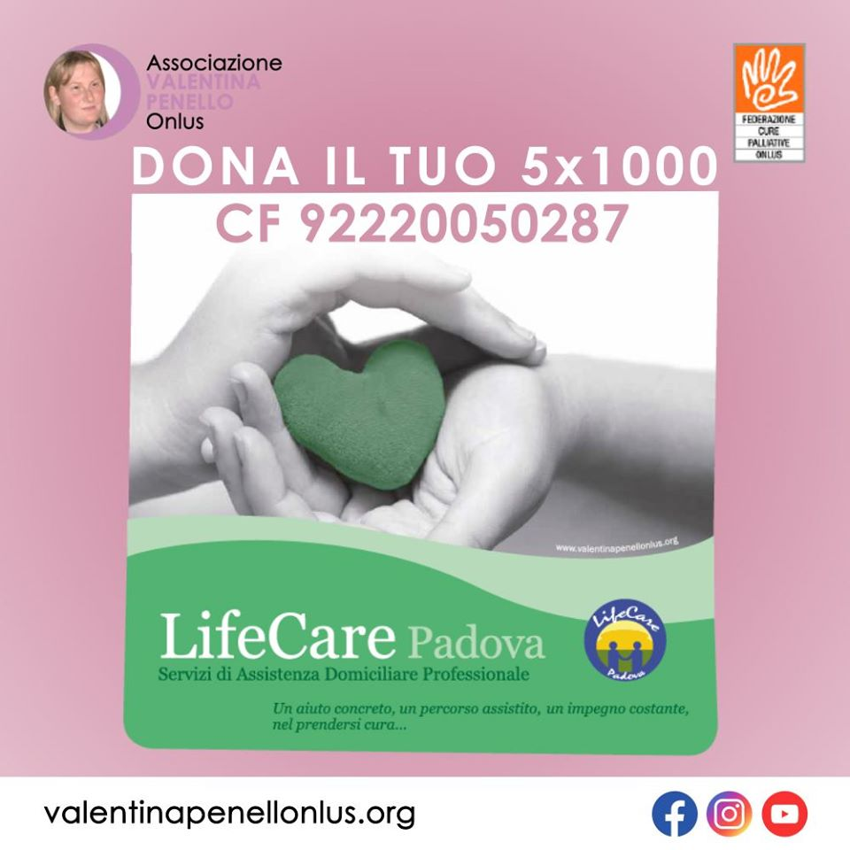 Valentina Penello Onlus 5x1000 2020